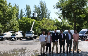 Nueva maquinaria de limpieza, recogida y mantenimiento, con una inversión de 1,5 millones de euros