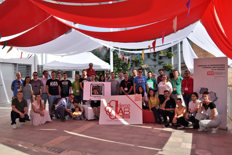 Más de 60 'makers' participan en DemoLab Maker del proyecto CETEIS