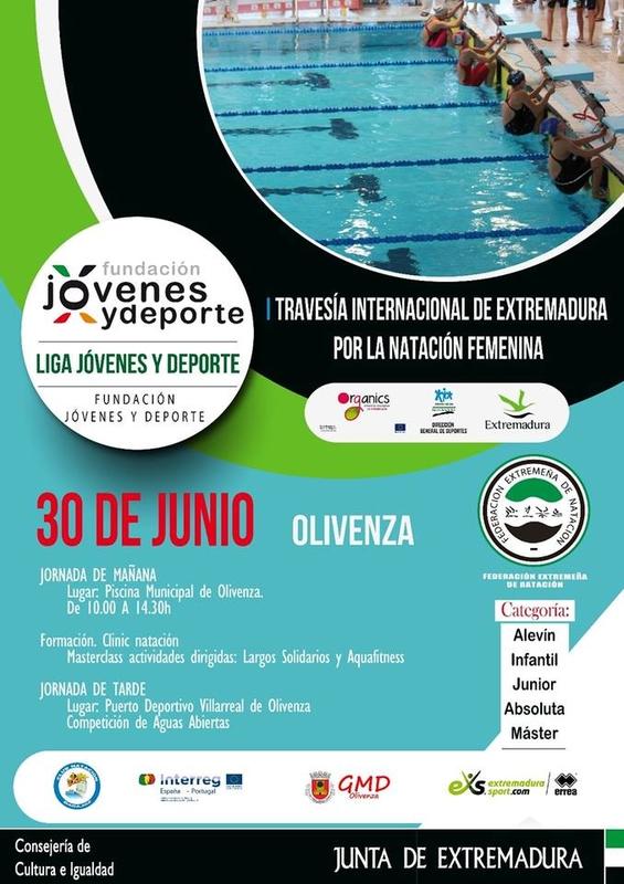 Olivenza nadará por la visibilidad del deporte femenino