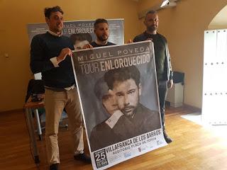 Miguel Poveda actuará este verano en Villafranca de los Barros