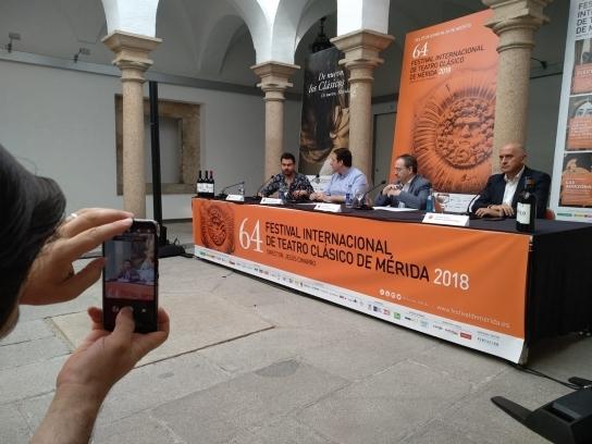 El Festival de Mérida promueve el I Encuentro Internacional de Periodismo Móvil + Cultura / MoJo+C