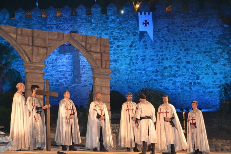 Más de un centenar de vecinos participará en la representación de 'El último templario de Xerez'