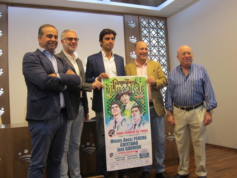Miguel Ángel Perera, Cayetano y José Garrido componen el cartel de la Feria Taurina de Herrera del Duque (Badajoz)