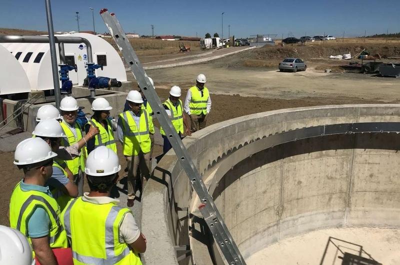 La nueva estación depuradora de aguas residuales de Berlanga entrará en funcionamiento en agosto