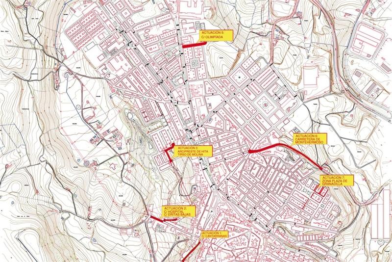La Diputación de Cáceres acomete la renovación de pavimento y acerado en varias calles de Coria por 112.000 euros