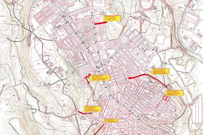 La Diputación emprende la renovación de pavimento y acerados en varias calles de Coria