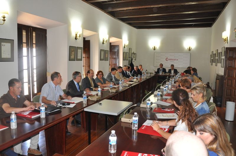 Constituido el comité ejecutivo de la Cámara de Comercio de Cáceres