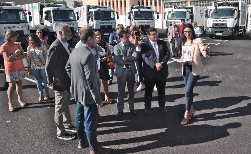 Promedio renueva un tercio de su flota con 20 nuevos vehículos de recogida de residuos urbanos