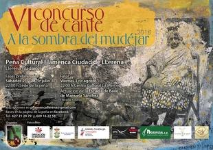 Más de veinte artistas se han inscrito este año en el concurso flamenco 'A la Sombra del Mudéjar' de Llerena