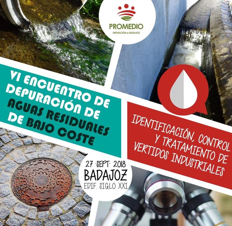 Expertos en tratamiento de aguas se citan en Badajoz para abordar el control de los vertidos industriales