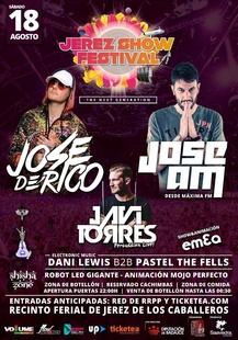 El dj José de Rico encabeza el III 'Jerez Show Festival' de Jerez de los Caballeros