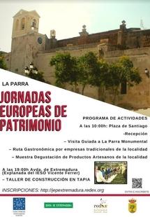 La Parra ofrece el 21 de agosto una visita guiada por sus monumentos y una ruta gastronómica