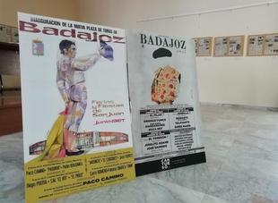 La exposición que recorre los 50 años de la Plaza de Toros de Badajoz se podrá visitar en Bienvenida hasta final de mes