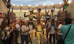 Éxito de los alumnos de la Escuela de Tauromaquia de la Diputación en distintos festejos y certámenes celebrados este fin de semana