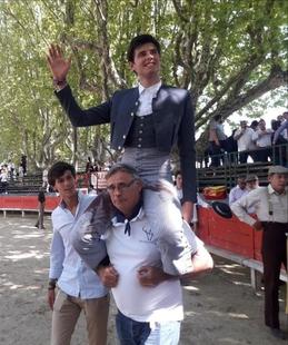 El novillero Alejandro Rivero toreará la final del XI Certamen Internacional de Novilladas Ribera del Tajuña
