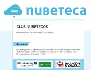 Abierto el plazo de inscripción para la creación de los Clubes Nubetecos