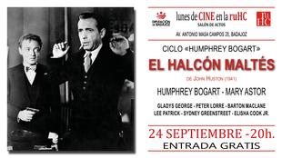'El Halcón maltés' se proyectará el próximo lunes en la RUHC