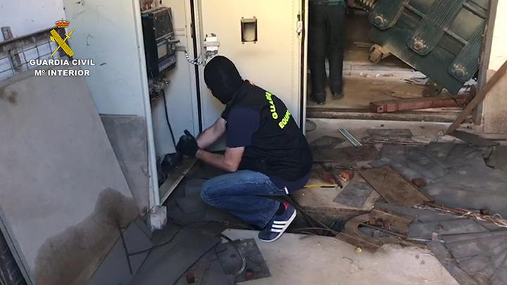 Detenidas dos personas por una veintena de robos de cobre y aluminio en empresas y viviendas