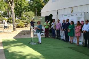 Diputación habilita espacio para el comercio minorista en la Feria Gastrocinegética de Malpartida de Plasencia