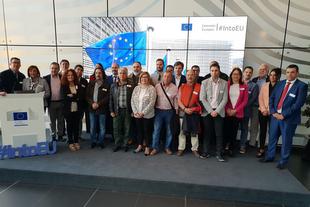 Charo Cordero pide en Bruselas un eje territorial específico adaptado a los territorios