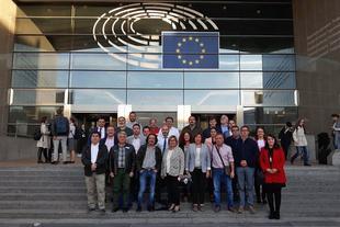 Finalizan los encuentros de la delegación de la provincia de Cáceres en Bruselas