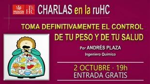 Charla-debate sobre el control de peso y la salud en la R.U. Hernán Cortés