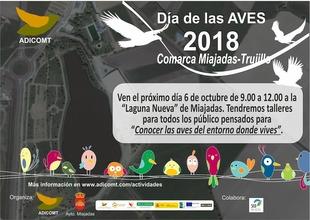 ADICOMT celebra el ''Día de las aves'' en la comarca Miajadas-Trujillo