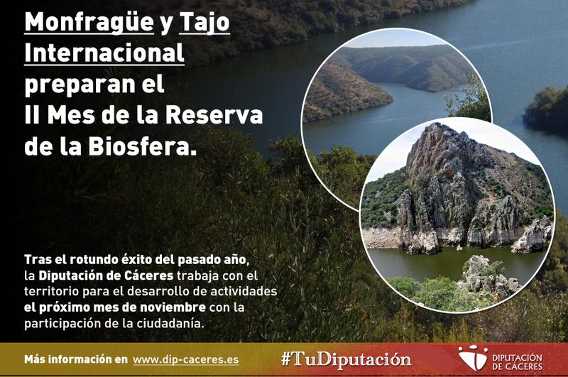 Monfragüe y Tajo Internacional preparan el II Mes de la Reserva de la Biosfera