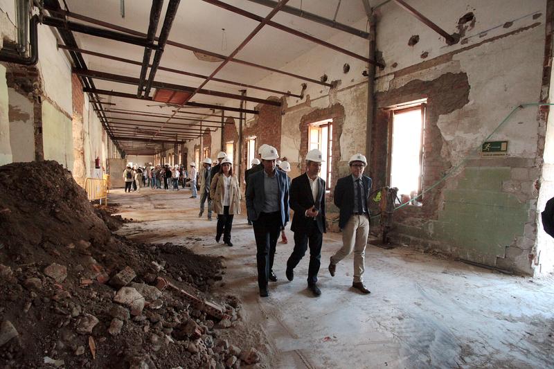 Satisfacción por el progreso de la primera fase de rehabilitación del antiguo Hospital Provincial