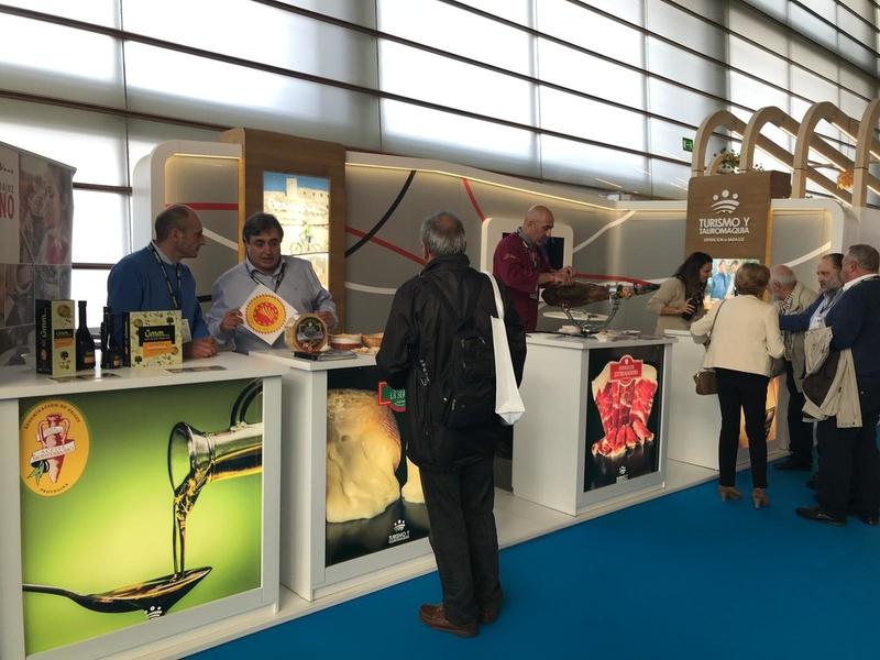 La Diputación de Badajoz asiste un año más a la Gastronomika de San Sebastián
