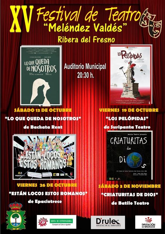 El teatro protagoniza la vida cultural de Ribera del Fresno
