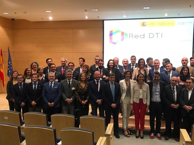 El presidente de la Diputación asiste y firma en Madrid la adhesión a la Red de Destinos Turísticos Inteligentes