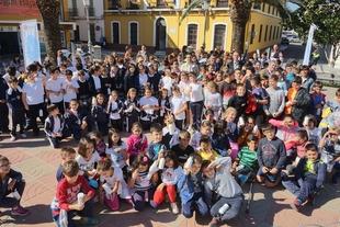Una representación teatral cierra los talleres Progrifo de Promedio en Puebla de la Calzada