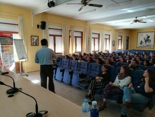 CEAT Badajoz realiza un taller de motivación al autoempleo en Coria