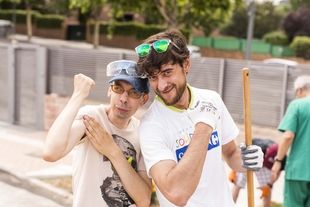 Carrefour y sus colaboradores, al servicio de la Asociación de Discapacitados de Extremadura y de PLACEAT en su 'Día de la Buena Gente' en Cáceres
