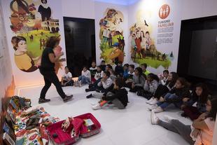 Escolares de Torreorgaz y Cáceres inauguran la IV Semana de Puertas Abiertas #TuDiputación