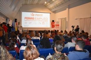 El CID Campiña Sur acoge a más de 250 personas y 10 empresas en la Feria de Empleo, Emprendimiento y Empresa 2018