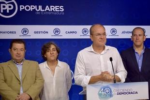 Monago: ''Desde Cáceres, ni con todos los megáfonos del mundo nos escucharán en Madrid''