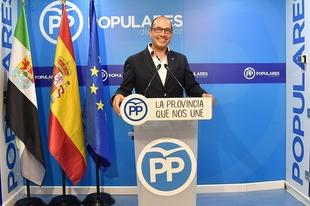 Juan Carlos Perdigón pone en duda la objetividad del reparto de fondos de la entidad provincial para ayudas a eventos culturales