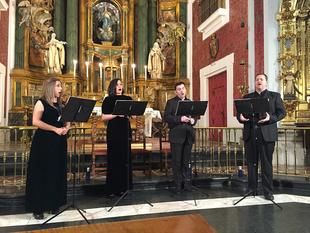 Simón Andueza ofrecerá con el grupo ''Gradualia'' el segundo concierto del ciclo Carmina Antiqva 2018 de Badajoz