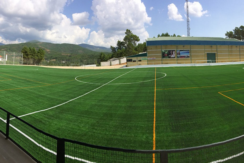 Finalizado el campo de fútbol de Pinofranqueado