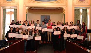 La Diputación de Badajoz entrega más de 100.000 euros a asociaciones para proyectos de igualdad y lucha contra la violencia de género