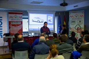 El CID Zafra-Río Bodión acoge una nueva entrega de puntos de recarga de vehículos eléctricos a municipios