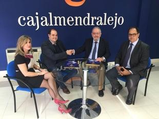 Caja Almendralejo, se convierte en patrocinador único de la Feria Agroganadera de Trujillo