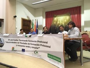 La Diputación de Badajoz presente en las III Jornadas dirigidas a titulados en Formación Profesional y Economía Verde y Circular