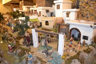 Inaugurado el Belén bíblico y monumental ''Santa Ángela'' de Jerez de los Caballeros