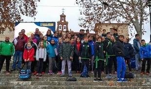 Excelente actuación de la Selección extremeña Diputación de Cáceres en el famoso Cross de la Constitución en Aranda de Duero