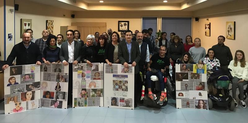 Ricardo Cabezas asiste en COCEMFE al Día Internacional de las Personas con Discapacidad