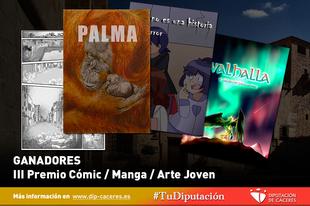 """La obra madrileña """"El horror"""" y la cartagenera """"Valhalla"""", ganadoras del III Premio Cómic/Manga/Arte Joven"""