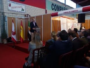 La Diputación de Badajoz está presente en la feria de muestras de Expobarros con un stand
